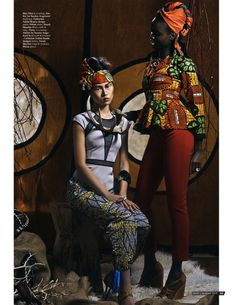 tribal beat fashion editorial mod magazine
