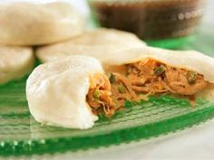 A twist on Steamed Pork Buns with Hoisin Dipping Sauce