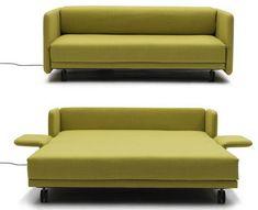 minimalist green sleeper sofa Small Sleeper Sofa Bed
