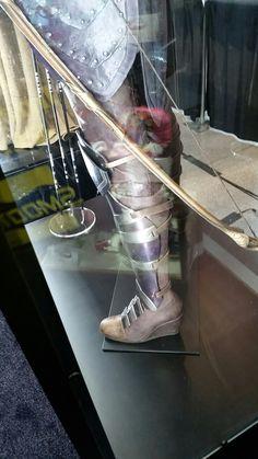 Wonder Woman movie General Antiope armor detail - greaves
