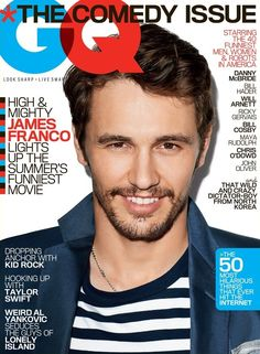 GQ US JUNE 2013, James Franco by Terry Richardson.
