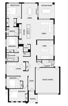 images about House floor plans on Pinterest   Floor Plans    New Homes   House Designs  Adelaide  amp  South Australia  SA    Metricon