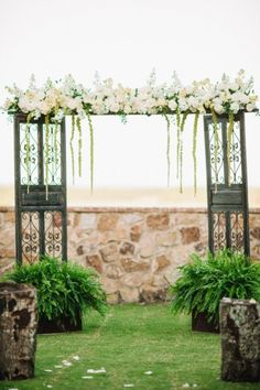 An Eclectic Mint and Pink Garden Wedding