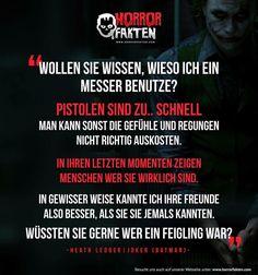 Heath Ledger bleibt noch immer der beste Joker aller Zeiten.. Schon Suicide Squad angesehen? #horrorfakten