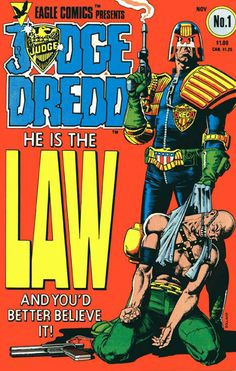 Yesterday I was given the opportunity to for my 1st official comic book gig, I will be creating my first cover for Judge Dredd!