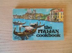 """Vintage Cookbook Paperback """"The Italian Cookbook"""" Italian Recipes by nitty gritty productions"""