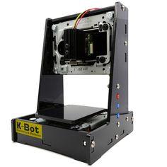 K-BotV21000mWMiniLáserMáquina de grabado Bluetooth DIY Láser Impresora