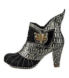 Irregular Choice Miaow Stiefeletten