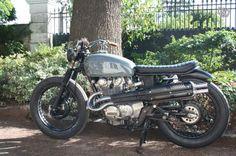 Honda Scrambler 450 Bratstyle Motos