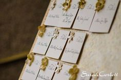 Wedding guest seating board