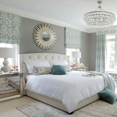 Master Bedroom Colors welcome to the new century: modern glam master bedroom | glam