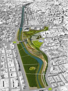 Park of Levante master plan // K/R Architects