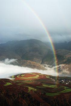 The Redland, Kunming, Yunnan, China