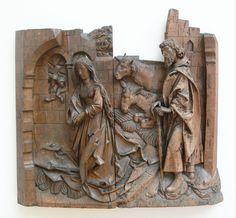 Riemenschneider Geburt Christi Relief - Category:Tilman Riemenschneider - Wikimedia Commons
