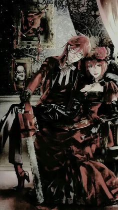 Grell and Madame Red, Kuroshitsuji; Black butler