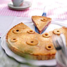 Birnen-Preiselbeer-Pie
