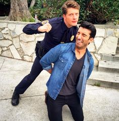 "And making light of their roles in Jane the Virgin. | Rafael And Michael From ""Jane The Virgin"" Have The Cutest Bromance In Real Life"