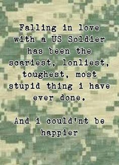 This was sooo true when Gary was still enlisted!