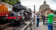 Pickering station, start of the North Yorkshire Moors steam railway