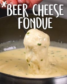 Beer Cheese Fondue: And it's only 5 simple ingredients! Beer Cheese Fondue: And it's only 5 simple ingredients! Total Time: 20 Mins Yield: Makes 6 servings People find This Recipe by Searching: best… Cheese Recipes, Sauce Recipes, Appetizer Recipes, Cheese Appetizers, Pasta Recipes, Irish Appetizers, Beer Recipes, Dip Recipes, Cooking Tips
