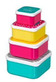 Gift: HEALTHY SNACKS SET OF 4 42021250 PLASTIC, Bar kod: 5055923705896  | Fotografija proizvoda | Knjižare Vulkan