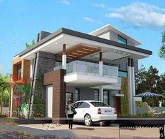ultra-modern-home-design: 20 Bungalow Designs Home Design, Bungalow House Design, House Front Design, Modern Bungalow, Bungalow Designs, Modern House Facades, Modern Exterior House Designs, Modern House Design, Exterior Design