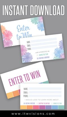 Enter To Win Printable Raffle Tickets Everything About