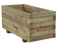 Wooden planters 120x35x40cm autoclave €37,99 per piece, deliveries worldwide. Bloembakken, plantenbakken, jardineras, jardinières, Blumenkasten, Pflanzkasten. See http://www.intergard.eu