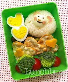Bento Day 98 A little sheepish love.