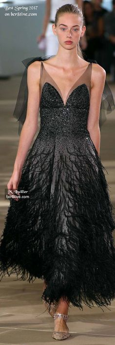 Monique Lhuillier - The Best Looks from New York Fashion Week Spring 2017