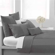 dkny harmony plum queen quilt by dkny bedding the home decorating company