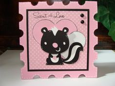 This and That: Skunk Card