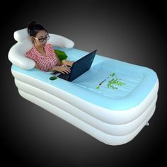 Inflatable Floating Bathtub - $250