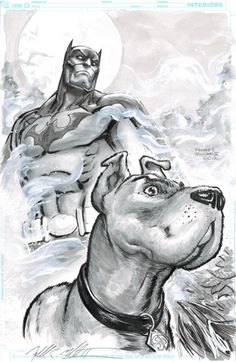 Batman and Scooby Doo by  Freddie E Williams