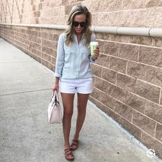 Casual Outfit Spring / Summer 2017 @thesweethomemom www.thesweethomemom.com