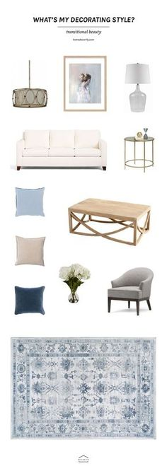 transitional home decor | home decorating ideas | living room ideas | decorating tips