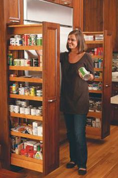 Pantry Ideas for Kitchen