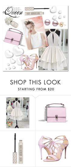 """""""Dream dressy 70"""" by aidaaa1992 ❤ liked on Polyvore featuring GINTA, Valentino, Fendi, Topshop and Casadei"""