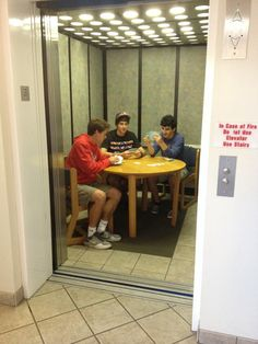 """social-purgatory: """"haedia: """" thewolfofnibu: """" stahscre4m: """" there are guys in my dorm who decided to play cards in the elevator """" see what intrigues me about college isn't the intellectual pursuit or..."""