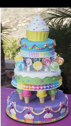 Daughters 1st b day cake!!! LOVE