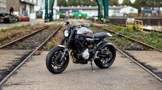 """Yamaha Yard Built""  XSR 700"