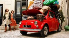 We don't know how to break it to the owner of this 500, but he may have overdone the packing. - Benoit Tessier | Newscom | Reuters