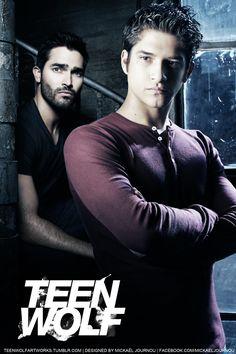 Scott & Derek #TeenWolf #Season3B