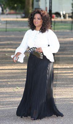 Oprah Winfrey - Dinner In Honour Of Nelson Mandela 90th birthday Arrivals, High  park, London, UK 2008