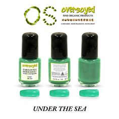 Under The Sea Fabulously Ferocious™ Nail Lacquer – OverSoyed Fine Organic Products