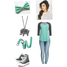 """""""Girly Tomboy"""" by alisa-granger on Polyvore"""