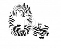 Daddy Tattoos, Bestie Tattoo, Mother Tattoos, Mother Daughter Tattoos, Tattoos For Daughters, Couple Tattoos, Thumbprint Tattoo, Fingerprint Heart Tattoos, Puzzle Tattoos