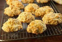 Cheddar, garlic biscuits