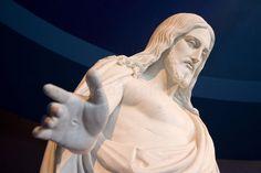 Statue of Jesus Christ. Close up of stone statue of Jesus Christ , Jesus Christ Statue, Stone Statues, Religion, Royalty Free Stock Photos, Sculpture, Image, Art, Craft Art, Kunst