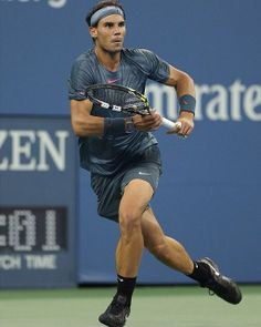 Rafael Nadal at the US Open 2013